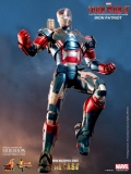 Figurka Iron Patriot - Iron Man 3 MMS Diecast Action Figure 1/6 - Hot Toys