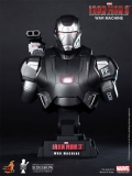 Bysta War Machine - Iron Man 3 Bust 1/4 - Hot Toys