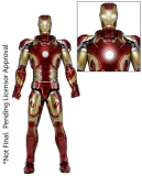 Figurka Iron Man Mark XLIII - The Avengers Actionfigure 1/4 - Neca