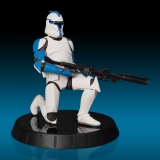 Soška Blue Clone Trooper Lieutenant Statue - Star Wars - Gentle Giant