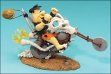 Figurka FRED FLINTSTONE ON CHOPPER - HANNA-BARBERA SERIES 1 - McFarlane