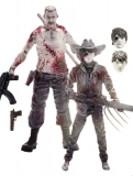Figurky Abraham Ford & Carl Grimes Previews Exclusive - The Walking Dead 2-Pack