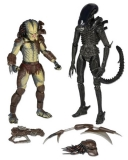 Figurka Renegade Predator vs. Big Chap Alien Action Figure 2-Pack - Neca