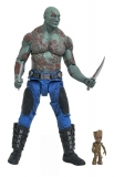 Figurka Drax with baby Groot - Guardians of the Galaxy 2 Action Figure