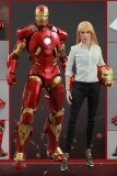 Figurky Mark IX & Pepper Potts - Iron Man 3 Movie Masterpiece Figure 2-Pack 1/6