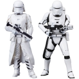 Figurky First Order Snowtrooper & Flametrooper - Star Wars Episode VII 2-Pack