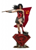 Soška DC Comics Premium Format Figure Wonder Woman Red Son
