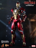 Figurka Iron Man Mark 17 Heartbreaker - Iron Man 3 Movie Figure 1/6 - Hot Toys