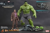 Figurka Bruce Banner &The Hulk - Avengers Movie Masterpiece 2-Pack 1/6
