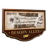 Harry Potter Wall Plaque Diagon Alley