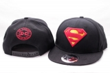 Čepice Superman Adjustable Cap Classic Logo Black