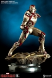 Soška Iron Man Mark 42 - Iron Man 3 Maquette 1/4 - 51 cm - Sideshow