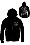 Mikina Sons of Anarchy - Zákon gangu - Zipped Hooded Sweater Death Reaper