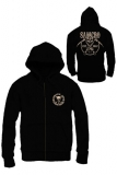 Mikina Sons of Anarchy - Zákon gangu - Zipped Hooded Sweater SAMCRO Chained