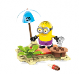 Figurka Despicable Me (Já, padouch) - Beach Party - Mega Bloks Construction Set