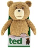 Ted Talking Plush Figure with Moving Mouth Rated
