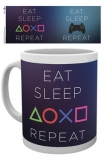 Hrnek Sony PlayStation Mug Eat Sleep Repeat