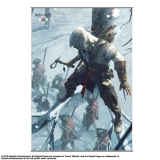 Plakát Assassin´s Creed III Wallscroll Vol. 2 - 105 x 77 cm