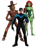 Figurky Scarecrow, Nightwing & Poison Ivy - Batman Hush Action Figure Box Set