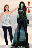 Kartonová postava Gamora - Guardians of the Galaxy Lifesize Cardboard Cutout