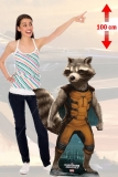 Kartonová postava Rocket - Guardians of the Galaxy Lifesize Cardboard Cutout