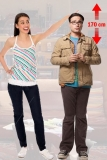 Kartonová postava Leonard - The Big Bang Theory Lifesize Cardboard Cutout