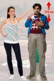 Kartonová postava Raj - The Big Bang Theory Lifesize Cardboard Cutout