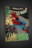 Obraz The Amazing Spider-Man #65 - Escape Imossible ! - Boxed Canvas Edition
