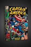 Obraz Captain America #112 - Boxed Canvas Edition