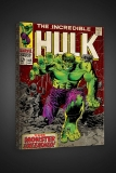 Obraz The Incredible Hulk #105 - Boxed Canvas Edition