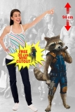 Kartonová postava Rocket - Guardians of the Galaxy 2 Lifesize Cardboard Cutout