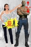 Kartonová postava Drax - Guardians of the Galaxy 2 Lifesize Cardboard Cutout
