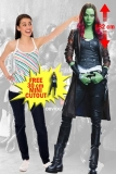 Kartonová postava Gamora - Guardians of the Galaxy 2 Lifesize Cardboard Cutout
