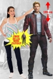 Kartonová postava Star Lord - Guardians of the Galaxy Lifesize Cardboard Cutout