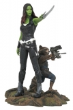Soška Gamora & Rocket - Guardians of the Galaxy Marvel Gallery PVC Statue
