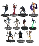 Sada figurek Iron Maiden Legacy of the Beast PVC Figures