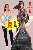Kartonová postava Wonder Woman (Gal Gadot) - Movie Lifesize Cardboard Cutout