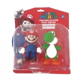 Figurky Mario and Yoshi - Super Mario Large Collection Action Figures 2-Pack