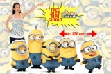 Kartonová postava Minions Group Pose - Despicable Me Lifesize Cardboard Cutout