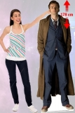 Kartonová postava The 10th Doctor Lifesize Cardboard Cutout