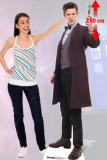 Kartonová postava The 11th Doctor Lifesize Cardboard Cutout