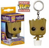 Přívěsek Dancing Groot - Guardians of the Galaxy Pocket POP! Vinyl Keychain