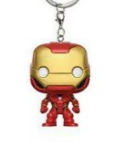 Přívěsek Iron Man - Marvel Comics Pocket POP! Vinyl Keychain