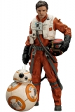 Figurky Poe Dameron & BB-8 - Star Wars Episode VII ARTFX+ Statue 1/10 2-Pack