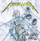 Obraz Metallica Framed Canvas Print Justice for All 40 x 40 cm