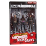 Figurky The Walking Dead TV Version Action Figure 3-pack Heroes