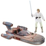 Figurka Luke Skywalker's X-34 Landspeeder - Star Wars Black Series Vehicle 2017