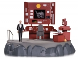 Diorama Batman The Animated Series Diorama Batcave with Alfred Action Figure
