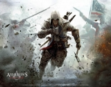 Textilní plakát Assassin`s Creed Wallscroll Connor 100 x 77 cm