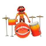 Figurka Animal & Drums - The Muppets Select Action Figure
